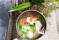#一周减脂不重样#夏季清凉——花蟹白菜汤的做法