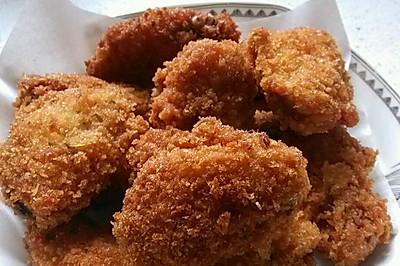 面包糠炸鸡翅