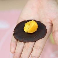 【番茄自制美食】一颗颗金黄的中式小点精灵——蛋黄酥的做法图解8