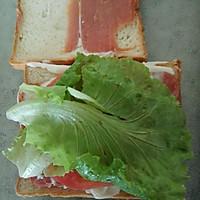 微波炉版无油三明治的做法图解9
