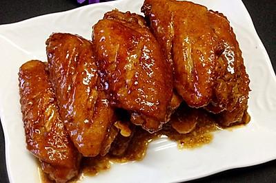 酱油焖鸡翅