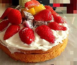 元宵节之团圆水果蛋糕的做法