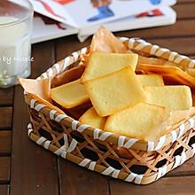 #我们约饭吧#越嚼越香的白芝麻软饼干