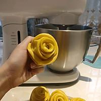 南瓜玫瑰花馒头的做法图解7
