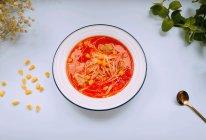 金针菇西红柿肉丸汤的做法