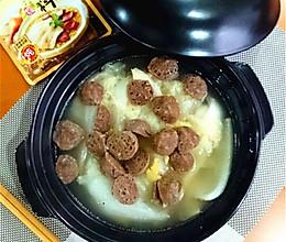 煲淋大白菜#大喜大牛肉粉试用#的做法