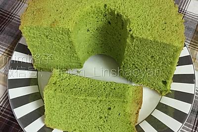 菠菜烟囱戚风蛋糕