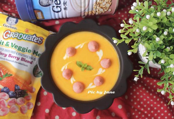 胡萝卜燕麦米粉