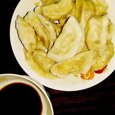 素水饺(香菇豆腐胡萝卜馅)