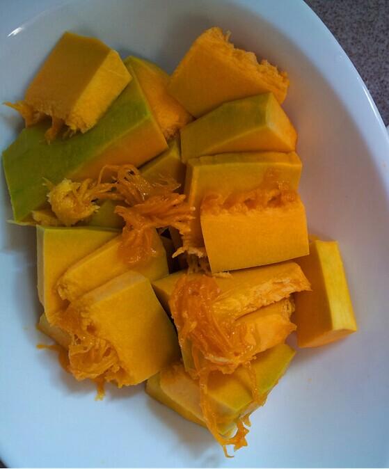 南瓜饭的做法图解1
