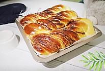 红豆沙麻花手撕面包的做法