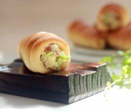 试用就要来个不同的螺旋面包配奶酪土#百吉福芝士片创意早餐#的做法