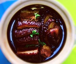 梅菜扣肉两碗饭都不够其实也不难做的做法