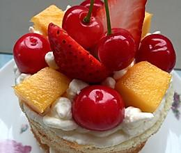 迷你水果蛋糕的做法