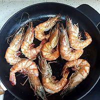 煎大虾的做法图解4