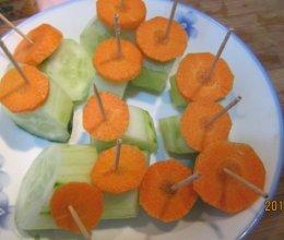 烤黄瓜的做法