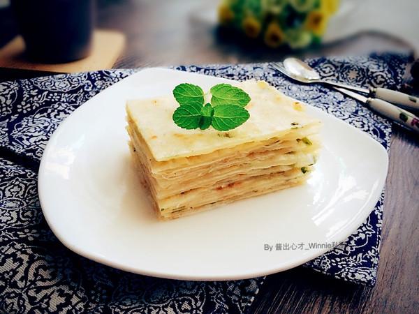 【素版葱油簿饼】德国Miji爱心菜的做法