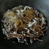 炒茶树菇(干)的做法图解2