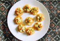 鸡蛋牛油果木瓜脆沙拉的做法