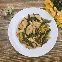 老菜脯豆腐焖黄骨鱼