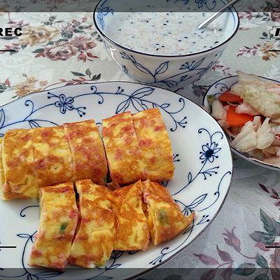 黄金早餐——芝士厚蛋烧