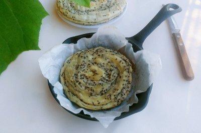 五香麻油酥卷饼