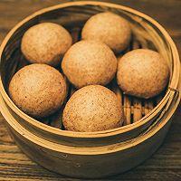 #年味十足的中式面点#百分百杂粮黑馒头(减脂期主食)的做法图解4