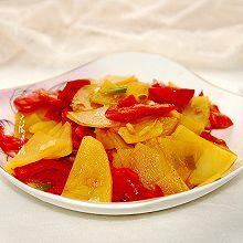 #橄榄中国味 感恩添美味#尖椒炒土豆片