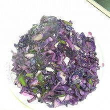清炒紫甘兰