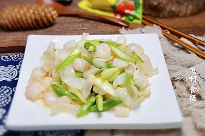 芦笋百合炒虾仁