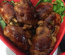 鸡翅酿时蔬的做法