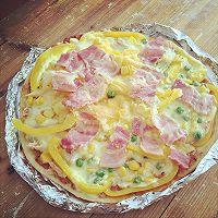 利仁电饼铛试用——海陆双拼披萨(附薄饼底与披萨酱制作)的做法图解15