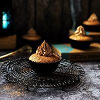 #马卡龙·奶油蛋糕看过来#比利时大黑巧克力奶油蛋糕杯