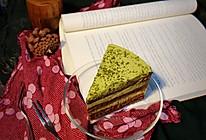 巧克力抹茶慕斯蛋糕的做法