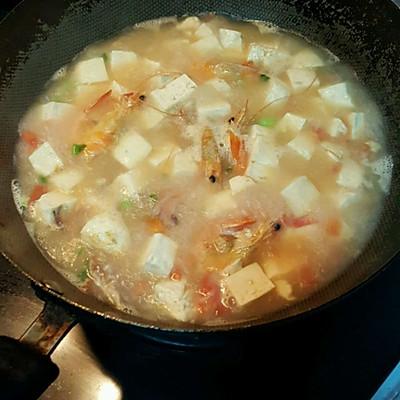 豆腐海鲜汤