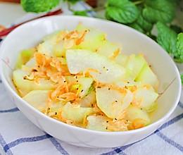 #助力高考营养餐# 虾皮烧冬瓜的做法