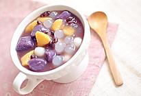 全手工芋圆红豆汤 的做法