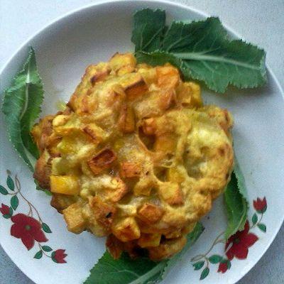 红薯烙饼(苕芋饼)