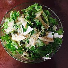 蟹柳生菜沙拉