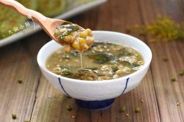 海木耳绿豆解毒汤