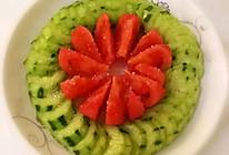 番茄黄瓜配的做法
