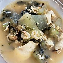 能长大个儿的冬瓜虾皮豆腐汤!