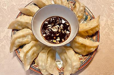 薄皮大馅蒸饺Steamed Dumpling Recipe