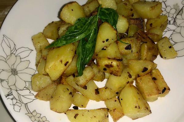 椒香土豆的做法