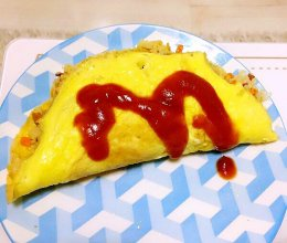 蛋包饭-弯弯自制的做法