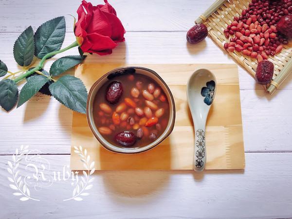 秋冬益气补血养生糖水-五红汤#洗手作羹汤#的做法