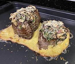 菲力牛排➕洋菇奶油酱,做出满满高级感的做法