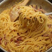 曼步厨房 - 培根芝士意面的做法图解8