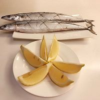 日式盐烤秋刀鱼的做法图解2