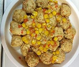 鸡肉豆腐丸子的做法
